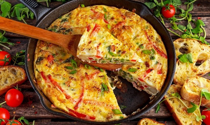 Rice Cooker Vegetable Frittata Recipe